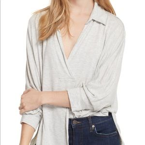 Free People Can't fool me split neck top